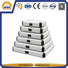 Разного размера профессиональные алюминиевые круглые случае HEC-0003