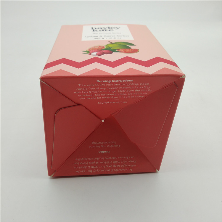 Flat Packed Candle Boxes