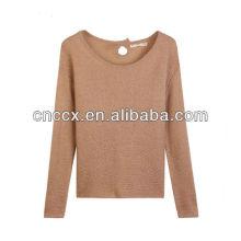 13STC5260 дамы пуловер высокое качество OEM crewneck толстовки