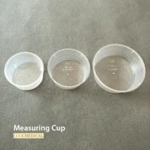Tasse à mesurer en plastique jetable de qualité médicale