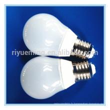 A60 dimmable 4W e14 a mené l'ampoule de filament de bougie menée