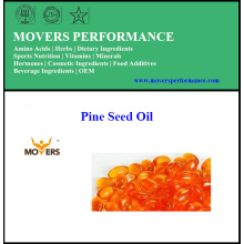 Pine Seed Oil/ Plant Capsules /No Preservatives