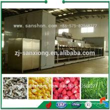 China Individual IQF Tunnel Type Blast Freezer Machine
