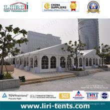 Tente de chapiteau de 9X6m avec la toile blanche de PVC pour des événements extérieurs