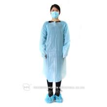 Vestido descartable de CPE Protector Operación Médica Vestido