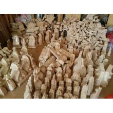 escultura em madeira personalizada