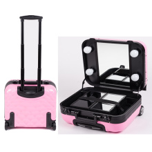 OEM Aluminium Make up Station with Lights and Mirror