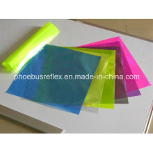 Materiales de colores de cintas reflectantes