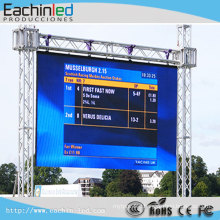 P6 smd full color led large advertising display board Rental outdoor led stage screen for sale