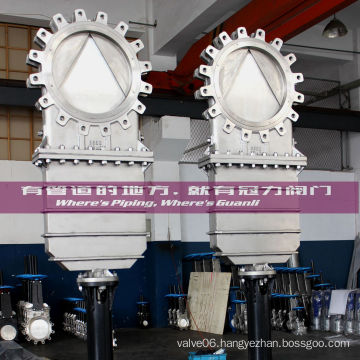 Ss316 Knife Gate Valve with Deflection Cone