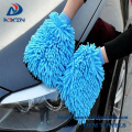 Waterproof Car Wash Mitts - 2 Pack Extra Large Size Automobile Detailing Gloves Microfiber