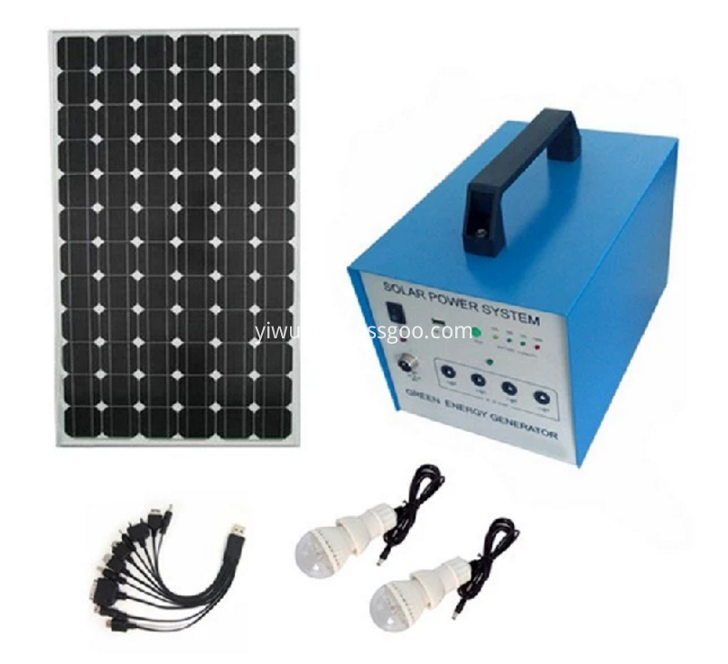 Solar energy integrated lighting system