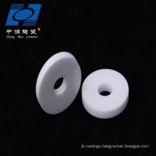 Ceramic disc faucet valve ceramic insulator