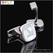 VAGULA abotoaduras de latão de Metal personalizado (Hlk31469)