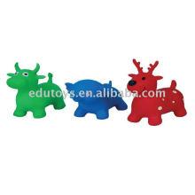 Animal saltador de animais saltando, brinquedos infláveis