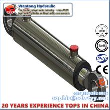 20 Anos de Fabricação Experiência de Duplo Cilindro Hidráulico Agindo
