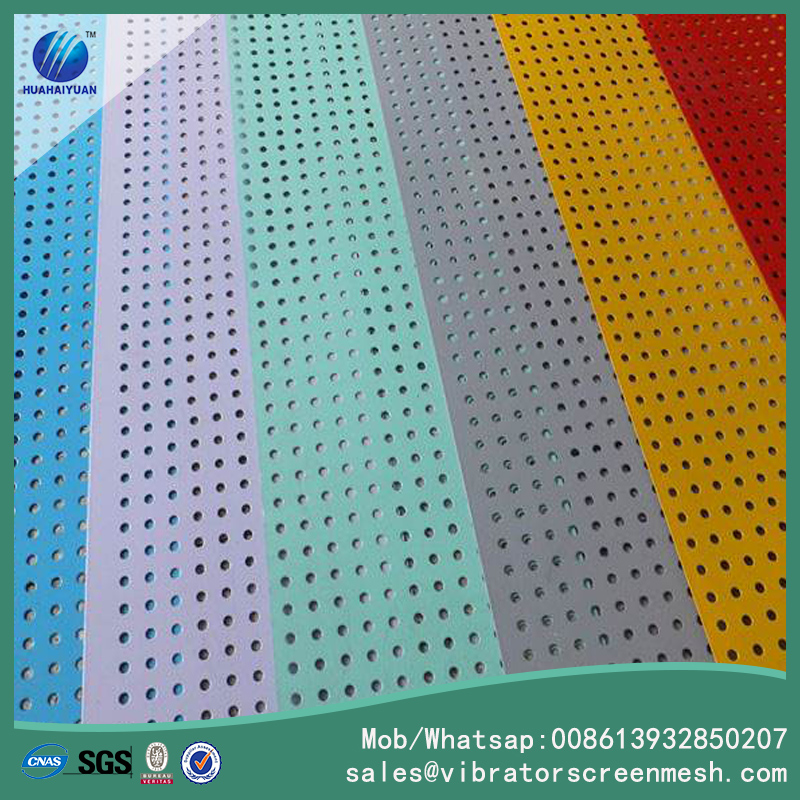 Painting Perforated Metal Sheet