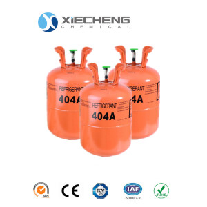 Mixed Refrigerant 404a Gas 24 lb Cilindro desechable