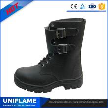 Botas de seguridad de la bota de punta de acero de tobillo