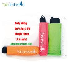 Venta al por mayor Super Mini tamaño de bolsillo paraguas 5 veces Mini paraguas personalizado logotipo de impresión