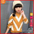 Las últimas mangas largas de la manera diseñan los cabritos modificados para requisitos particulares del suéter de la cachemira