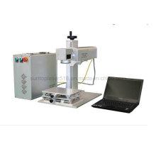 Key Chain Photo Frame 20 Watt Metal Laser Marking Machine/Fiber Laser Marking Price