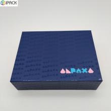 Custom Logo Cardboard Magnet Folding Paper Gift Box