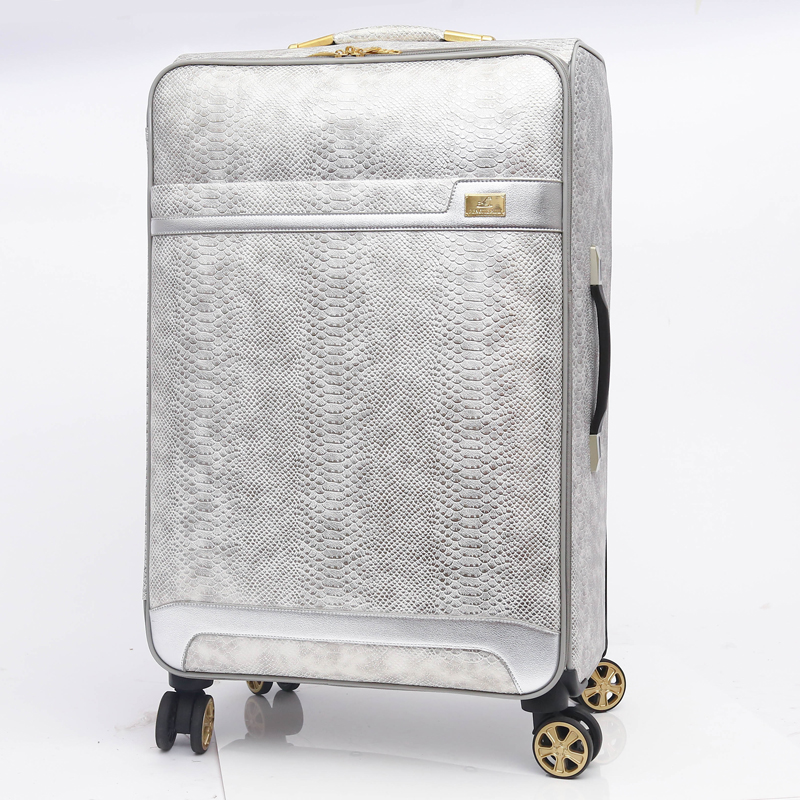 vantage pu leather luggage