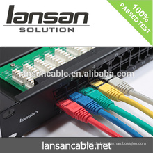 Fabrik Preis Cat6 Patch Cord Netzwerkkabel, 0,5m, 1m, 3m, 5m, 10m