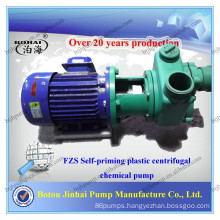 Self Priming Engineering Plastic Anti-Corrosive Chemical Pump