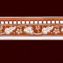 W13cm PS Leaf Shape Mouldings Cornice Building Material