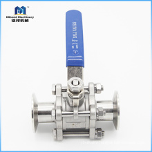 Chinese Manufacturer 2 Inch Sanitary Stainless Steel SS 304/ 316L Control Ball Valve