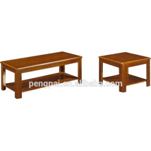 Brown Colour Chinese style tea table with palce board