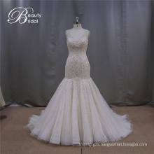 Heavy Beading Mermaoid Bridal Dress