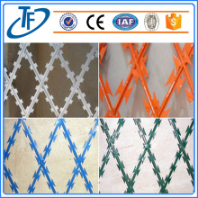 Svetsad Razor Barbed Wire Fence Panel