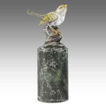 Animal Statue Bird Oriole Decoration Bronze Sculpture Tpal-300 / 301