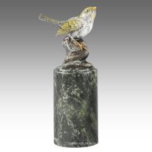 Животное Статуя Птица Иволга Украшения Бронзовая Скульптура Tpal-300 / 301