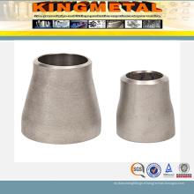 Réducteur concentrique en acier inoxydable Sch10s soudé