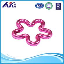 Aluminum Flower Shape Carabiner for Promotion Gift
