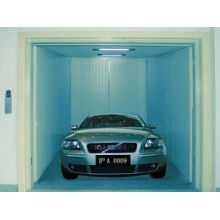 Durable machine room car elevator with painted sheet