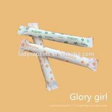 Tampons applicateurs de perle organique en gros jetables pour des femmes