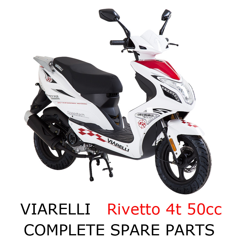 Viarelli Rivetto 4t 50cc scooter part