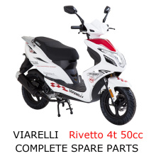 Viarelli Rivetto 4t 50cc Scooter Part Complete Parts