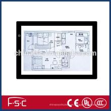 Luz de seguimiento copia Junta caja de luz LED dibujo rastro ligero mesa de dibujo
