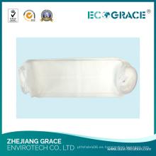 Bolsa no tejida de los medios del filtro del polvo del poliéster de la tela