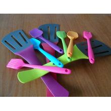 Colorful Silicone Utensils For Kitchen, Silicon Spoons Spatula, Cooking Spatulas
