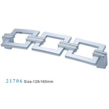 Zink-Legierung Möbel Hardware Pull Schrank Griff (21706)