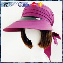 Bester verkaufender einfacher Entwurfs-Plastiksonne-Schirm-Kappengroßhandelspreis