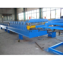Glazed Roof Tile Forming Machinery With High Speed For Steel Structure Workshop