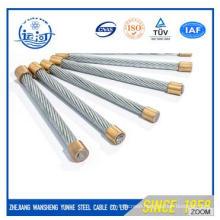 Galvanized Steel Wire Strand 7/2.0-6.0mm